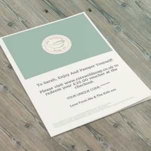 Cotswold Soap Gift Voucher