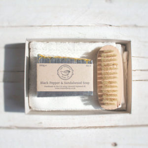 Black Pepper & Sandalwood Soap Gift Set