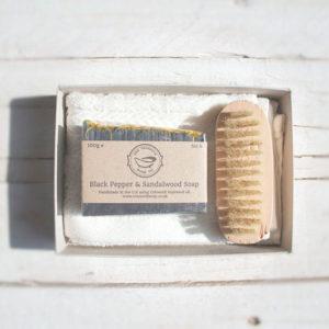 Black Pepper & Sandalwood Soap Gift Set