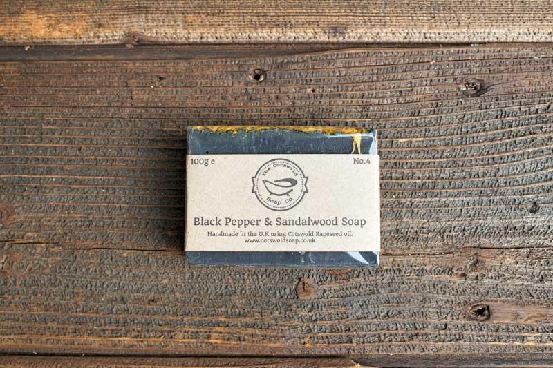 Black Pepper & Sandalwood Soap