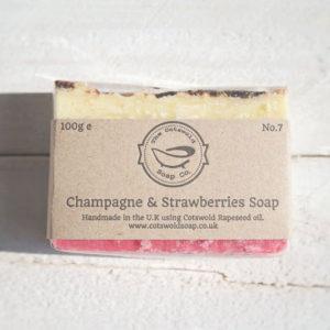 Champagne & Strawberries Soap