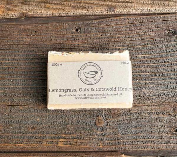 Lemongrass, Oats & Cotswold Honey Soap Gift Set