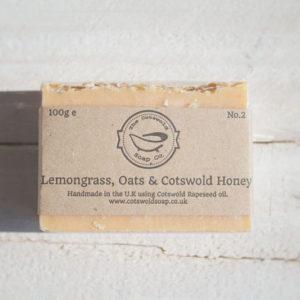 Lemongrass, Oats & Cotswold Honey Soap