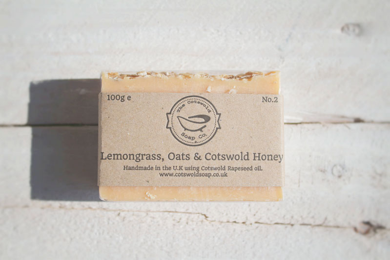 Lemongrass, Oats & Cotswold Honey Soap