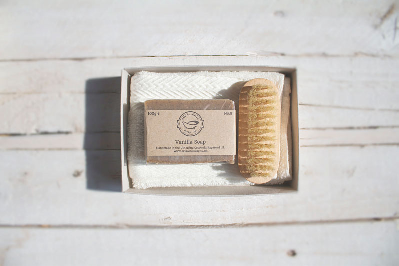 Vanilla Soap Gift Set