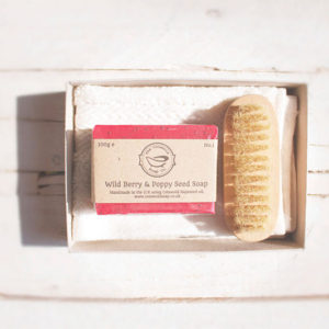 Wild Berry & Poppy Seed Soap Gift Set