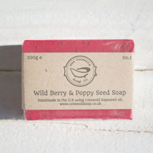 Wild Berry & Poppy Seed Soap